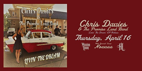 Chris Davies & The Promise Land Band EP Release with Novvaa tickets