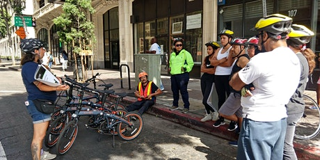 BEST Clase: Bicicleta 3 - Habilidades en la calle (Centro de Los Angeles) - POSPUESTO boletos