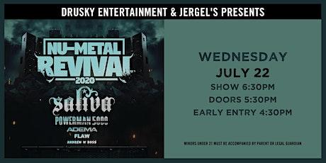 Nu-Metal Revival featuring Saliva & Powerman 5000 tickets
