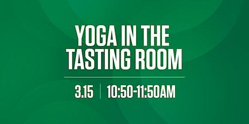 Yoga in the Tasting Room