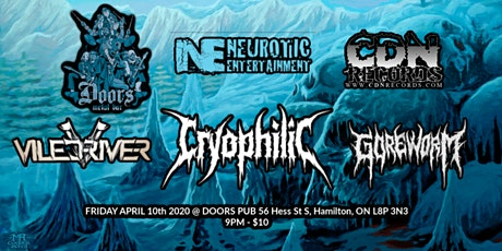 Cryophilic CD Release Show tickets
