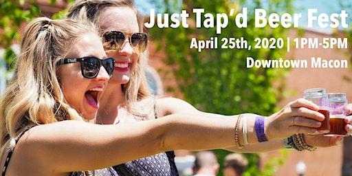 Just Tap'd Beer Festival 2020 .
