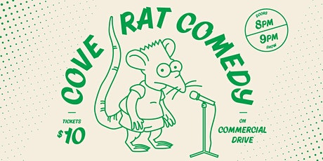 Cove Rat Comedy on Commercial tickets