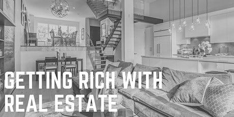 Getting Rich With Real Estate tickets