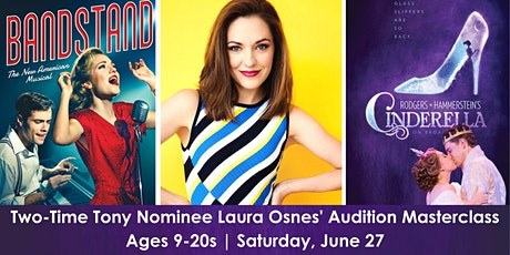 Two-Time Tony Nominee, Laura Osnes Teaches Audition Masterclass tickets