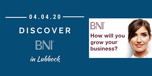 Discover BNI in Wichita Falls