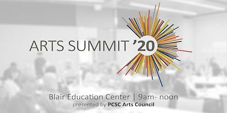 Arts Summit 2020 tickets