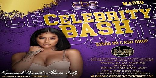 Chasin Bread Entertainment Official Celebrity Bash- Hosted by Alexis Skyy