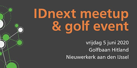 IDnext meetup - Golf 2020 tickets
