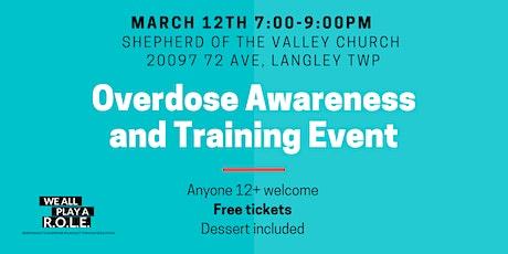 Overdose Awareness Training  & Free Dessert Night tickets