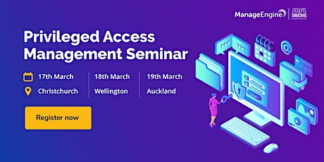 Privileged Access Management - Christchurch tickets