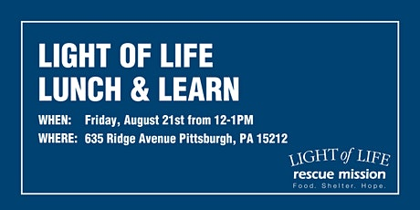 Light of Life Major Donor Lunch & Learn tickets