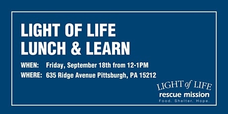 Light of Life Lunch & Learn for Beacons of Hope tickets