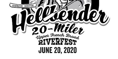 Hellbender 20 Miler Relay Race tickets