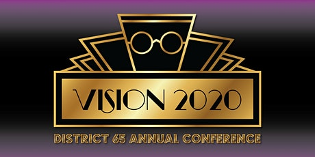 Vision 2020: Toastmasters District 65 Annual Conference tickets