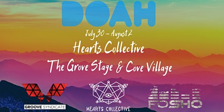 """Hearts Collective @ """"The Grove"""" Doahfest 2020 tickets"""