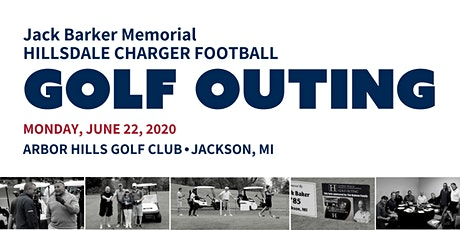 2020 Hillsdale Charger Football Golf Outing tickets