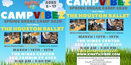 Kinetic Vibez: Spring Break Camp  tickets