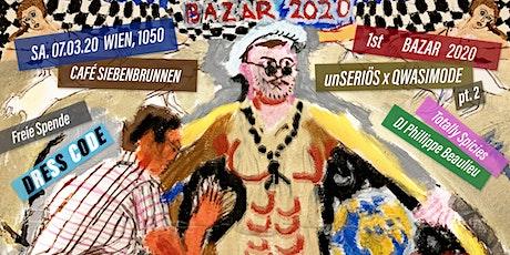 Technokitsch Bazar 2020 B.C.   Vernissage, Techno & Performance.  Tickets