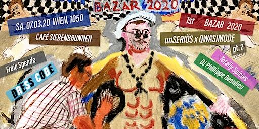 Technokitsch Bazar 2020 B.C. | Vernissage, Techno & Performance.
