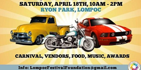 Annual Lompoc SpringFest Car, Truck and Bike Show tickets