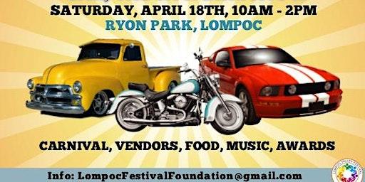 Annual Lompoc SpringFest Car, Truck and Bike Show