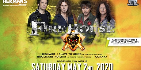 FIREHOUSE  IN DENVER, CO tickets