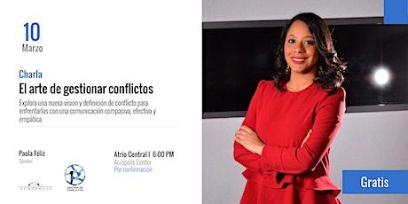 El arte de gestionar conflictos boletos