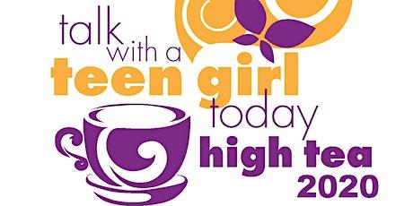 Crittenton Services of Greater Washington's {Virtual} Talk With A Teen Girl High Tea  tickets