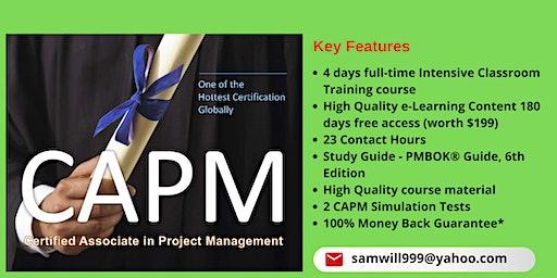 CAPM Certification Training in Danbury, CT