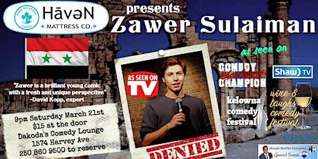 Haven Mattress Co presents Zawer Sulaiman tickets