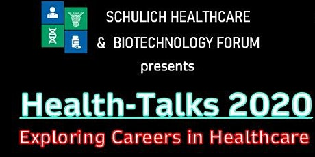 Health-Talks 2020 | Exploring Careers in Healthcare | tickets
