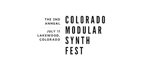 Colorado Modular Synth Fest 2020 tickets