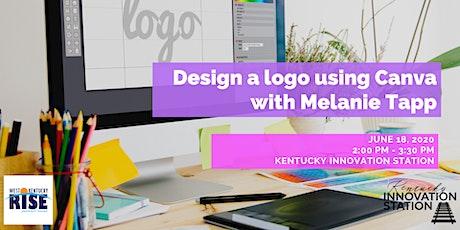 Design a Logo using Canva tickets