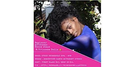 Beginner Afrobeats dance steps with Princess Bella - Beginners  tickets