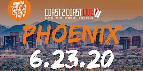 Coast 2 Coast LIVE Showcase Phoenix - Artists Win $50K In Prizes tickets