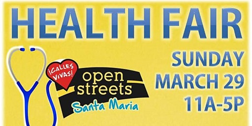 Annual Health Fair and Open Streets Event