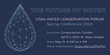 UWCF Spring Conference - The Future of Water tickets
