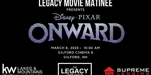 Legacy Movie Matinee - Presenting Onward!