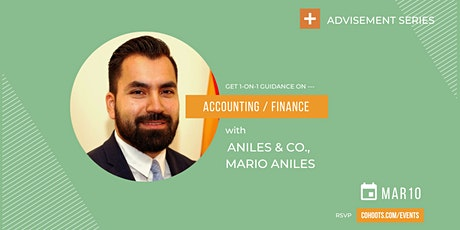 CO+HOOTS Advisement Day with business leader Mario Aniles tickets