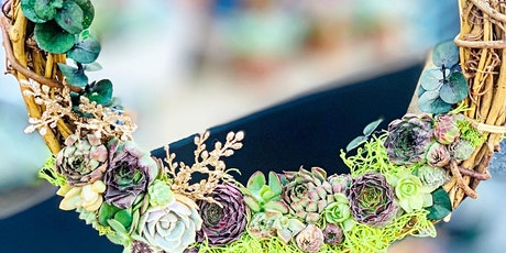 Easter Succulent Wreath Workshop @AR Workshop Brandon tickets