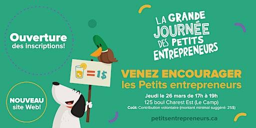 Venez encourager les Petits entrepreneurs