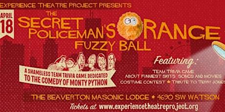 Secret Policeman's Fuzzy Orange Ball: a Monty Python Trivia Night tickets