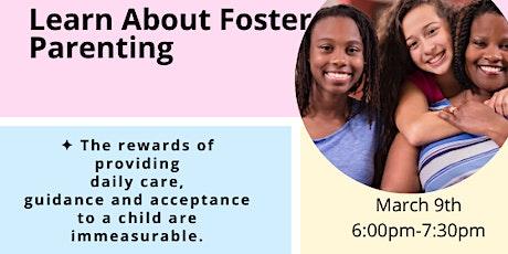 Becoming a Foster Parent in Massachusetts tickets