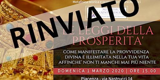 Leggi della Prosperità: come manifestare la Provvidenza Divina e Illimitata