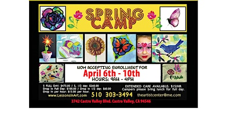 Spring Art Camps for Kids tickets
