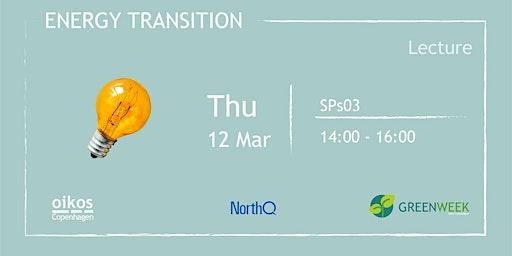 Green Week: Energy Transition