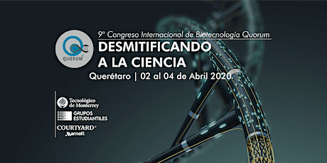9° Congreso de Biotecnología Quorum tickets