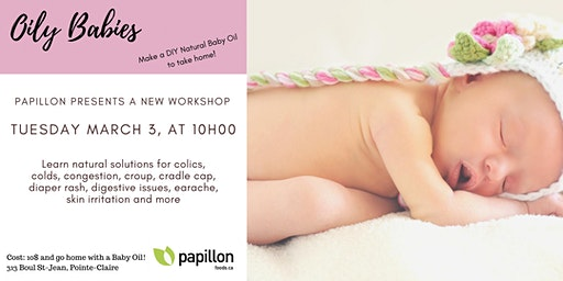 Oily Babies Learn Natural Remedies Workshop