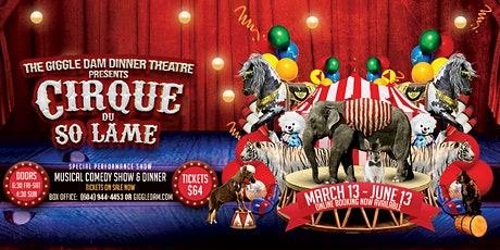 Cirque du So Lame - Show + Dinner - Full Service Bar Available tickets